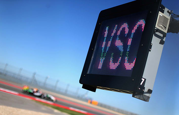 Formula 1 is testing a 'virtual safety car'