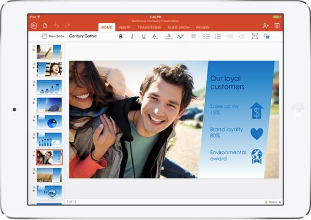 Microsoft Office for iPad adds monthly subscription option