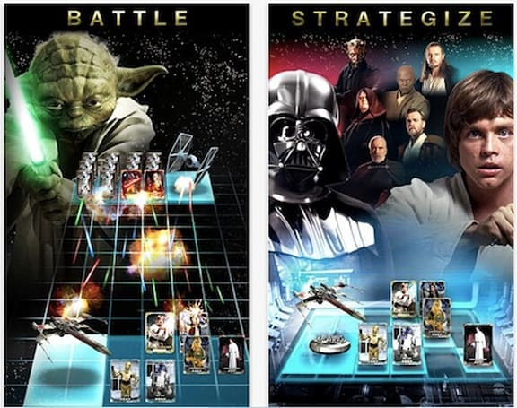 Star Wars Force Collection card game hits iOS