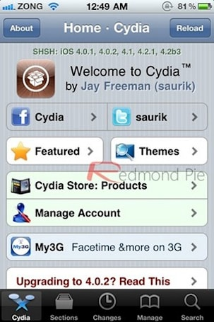 Latest Cydia release lets you easily download that jailbreak again and again
