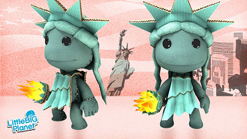 LittleBigPlanet celebrates July 4 with free DLC costume