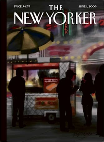 iPhone-generated artwork featured on cover of The New Yorker