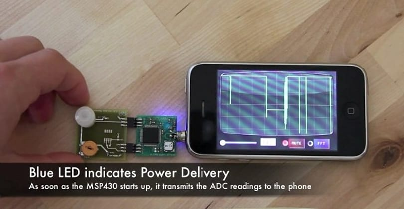 iPhone headset socket hijacked to power DIY peripherals (video)