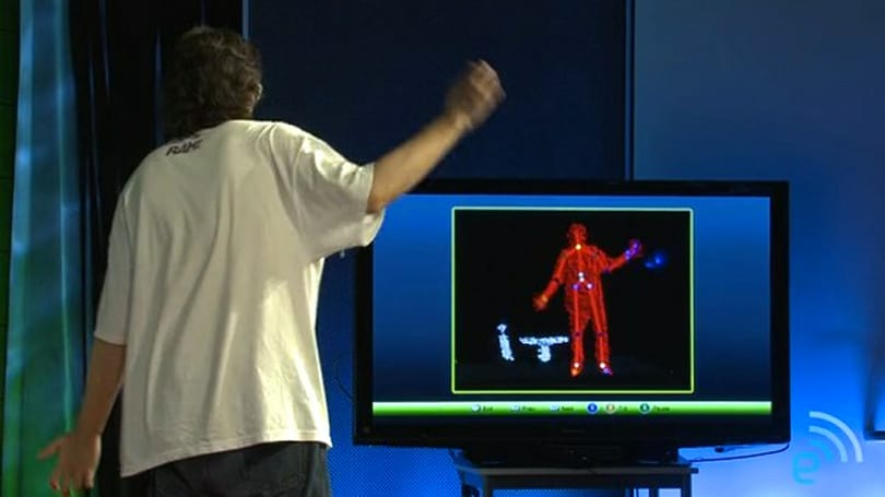 Microsoft Kinect will work just fine for seated gameplay