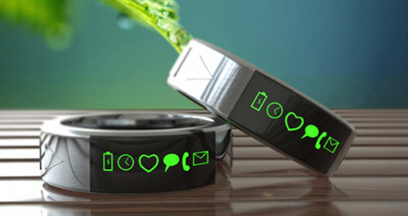 The Smarty Ring is the laziest piece of wearable tech ever, and it may never even exist