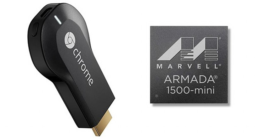 Marvell flaunts its Armada 1500-mini CPU powering Chromecast, lists codecs