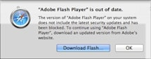 Safari blocking outdated Flash plug-ins due to security holes