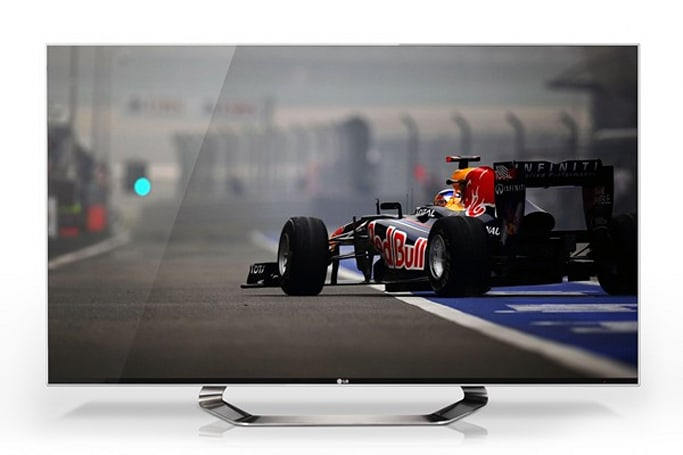 LG showcases 2012 HDTV line-up: Big screens, skinny bezels
