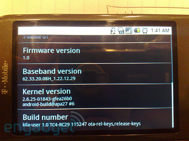 Leaked G1 firmware lets you revert to RC29
