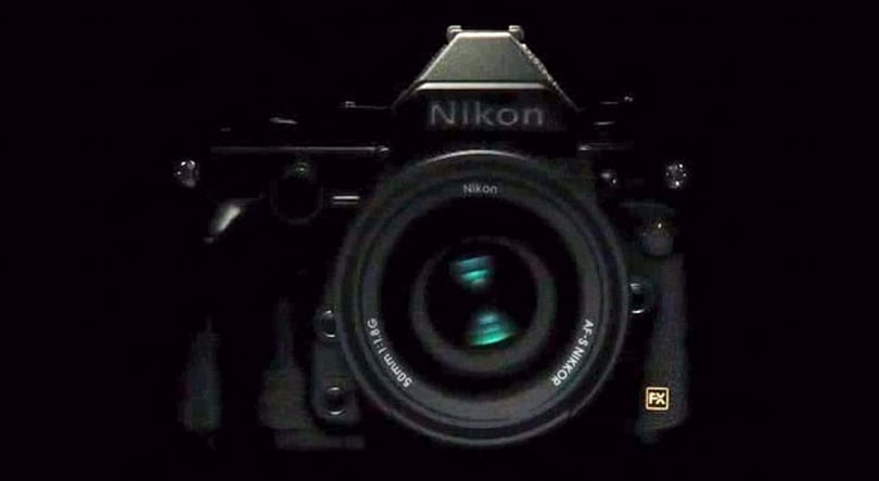 Nikon's latest teaser for its retro DSLR shows the camera, however briefly (video)
