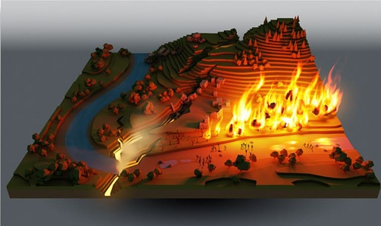 Peter Molyneux's 22cans pitching Populous-esque project on Kickstarter, 'Godus'