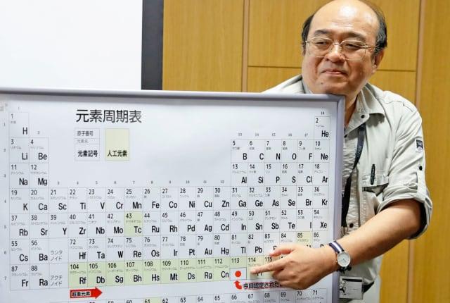 IUPAC 正式加入四个新元素,完成周期表的第七排