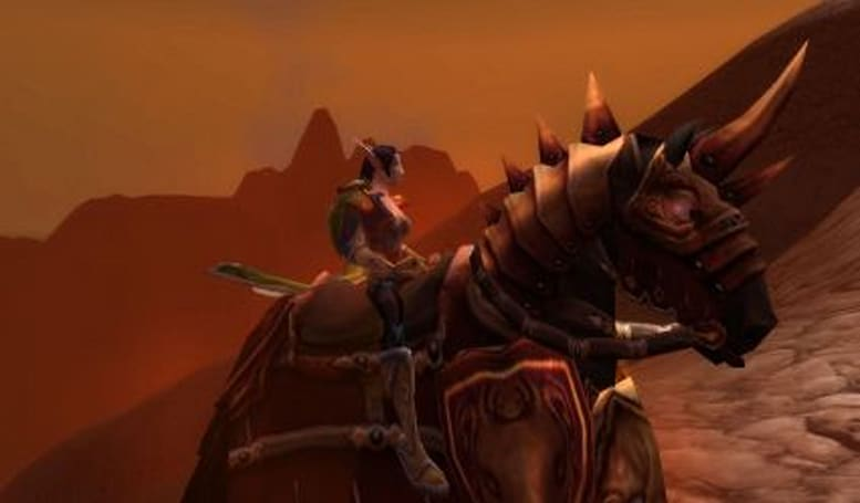 The Light and How to Swing It: Your epic mount quest -- for the Horde!