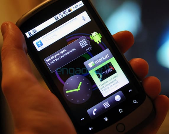 Nexus One gets yet another Android 2.2 Froyo update, FRF91