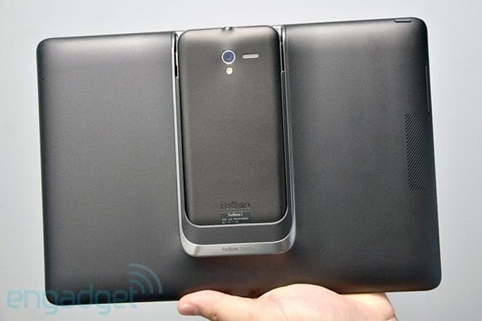 ASUS PadFone 2 hands-on in Taipei (updated with video)
