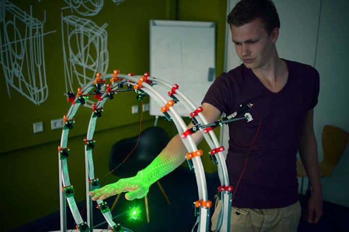 3D hand scanner could give you custom braces