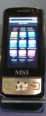 MSI brings first Soleus handset to CES