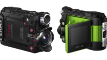 オリンパスがアクションカメラ『STYLUS TG-Tracker』を発表。4K対応、対角線画角204度の超広角レンズ搭載