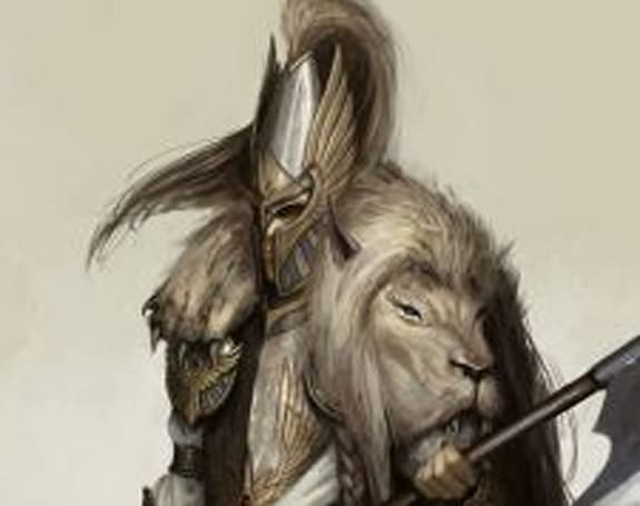 The Elves of WAR: Meet the White Lion