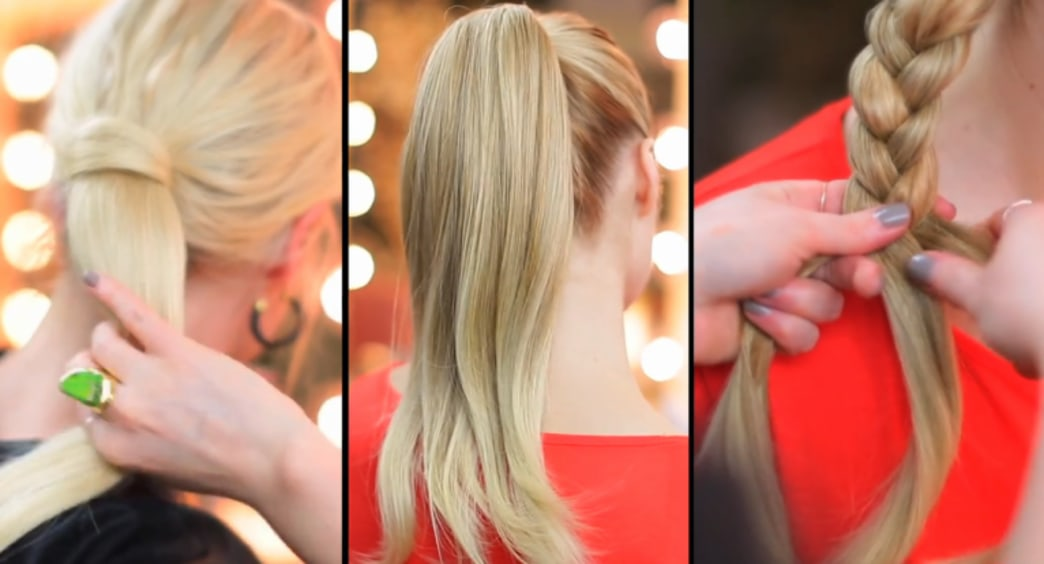 The secret to a sexy, long ponytail