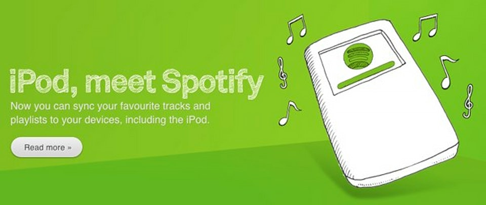 spotify launches music download service with ipod sync puts itunes on notice. Black Bedroom Furniture Sets. Home Design Ideas