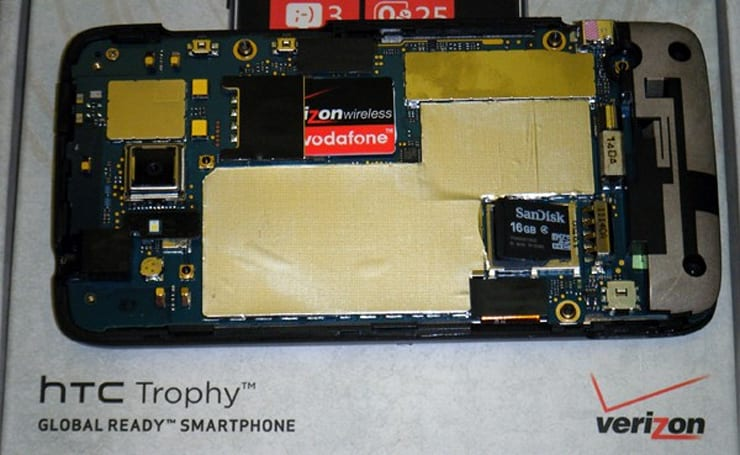 Verizon's HTC Trophy hides the microSD, forbids you from touching it