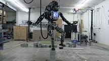 Boston Dynamics' Atlas robot weighs 330 pounds, but it can now balance on one leg