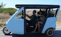 Sunnyclist is an EV powered by the sun and your hard work