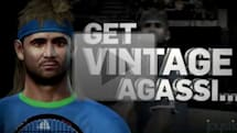 Top Spin 4 'Legends' trailer features 'Vintage Agassi'
