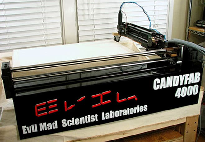 DIY 3D printer utilizes hot air, sugar to craft random objects