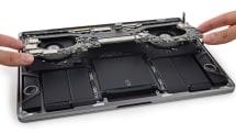 タッチバー付き13インチMacBook Proは「ほぼ修理不可能」、RAMもSSDもハンダ付け
