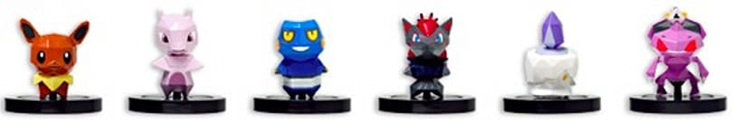 Pokemon Scramble U's second line of NFC toys dated