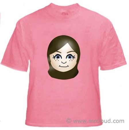 Mii on a Tee, but the shirts aren't free
