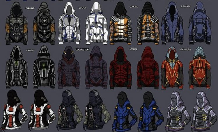 BioWare to sell fan-designed Mass Effect hoodies