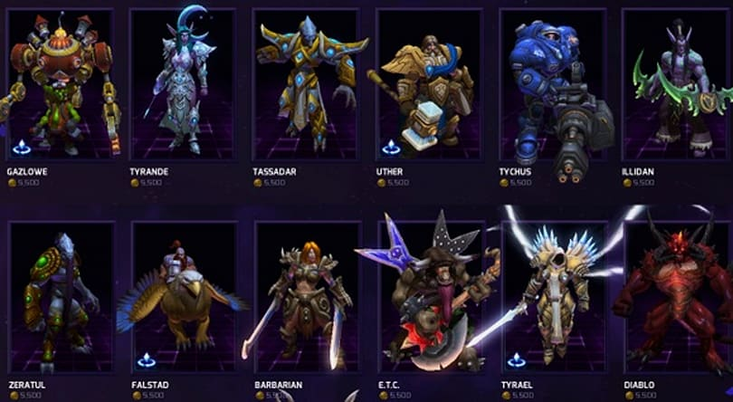 Heroes of the Storm hero rotation for April 8 - April 14