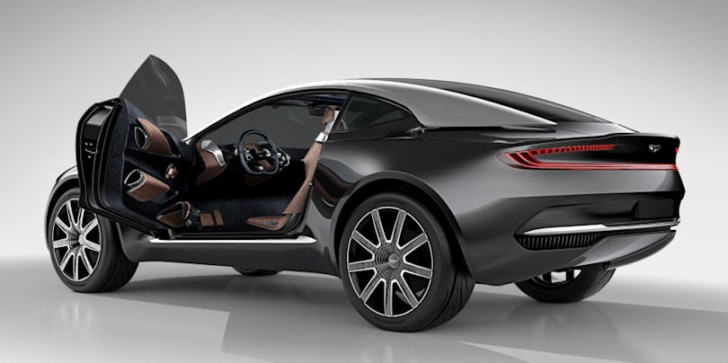 Aston Martin is developing a plug-in hybrid and an electric vehicle