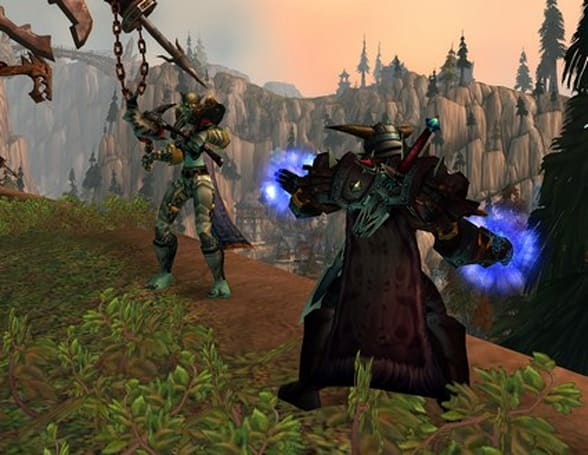 WWI '08 Death Knight Demo: Frost spells and talents