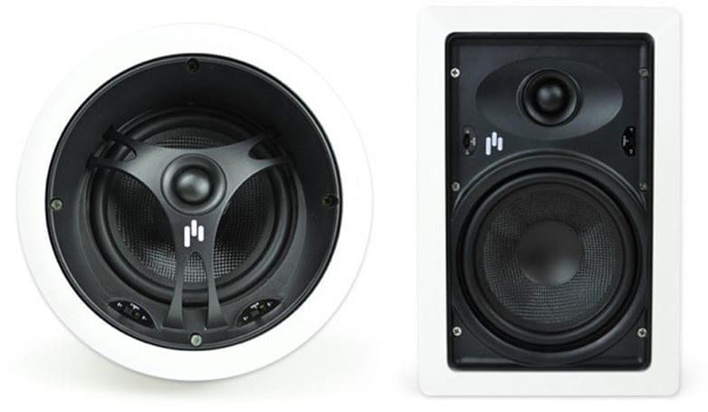 Aperion's new Intimus speakers look to stand out while blending in