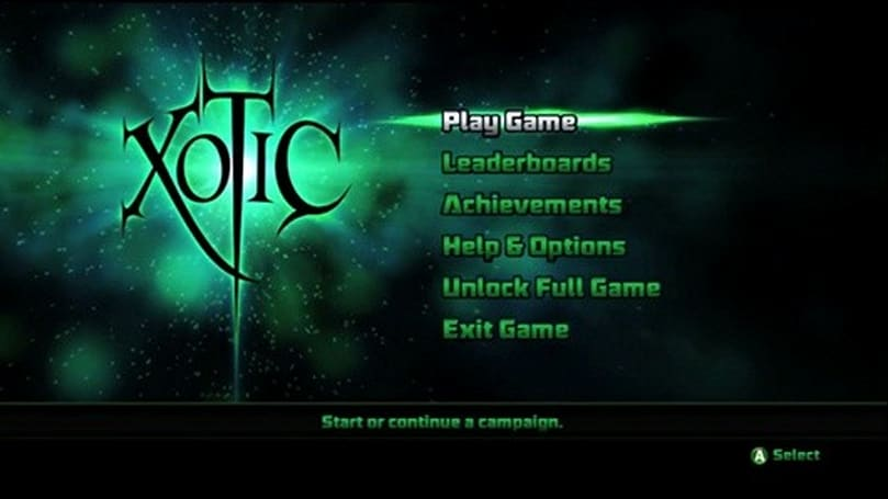 XBLA in Brief: Xotic