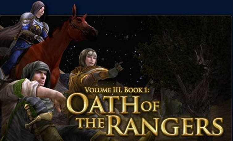 LotRO announces Volume III, Book 1: Oath of the Rangers