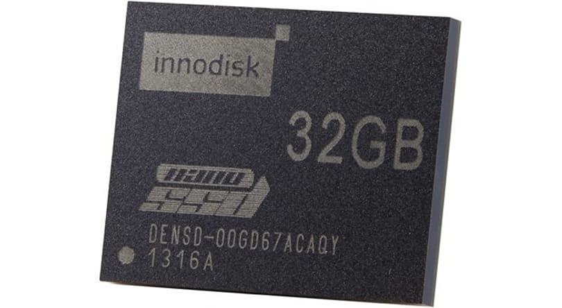 Innodisk outs embedded SATA nanoSSD, nets 480MB per second from one chip