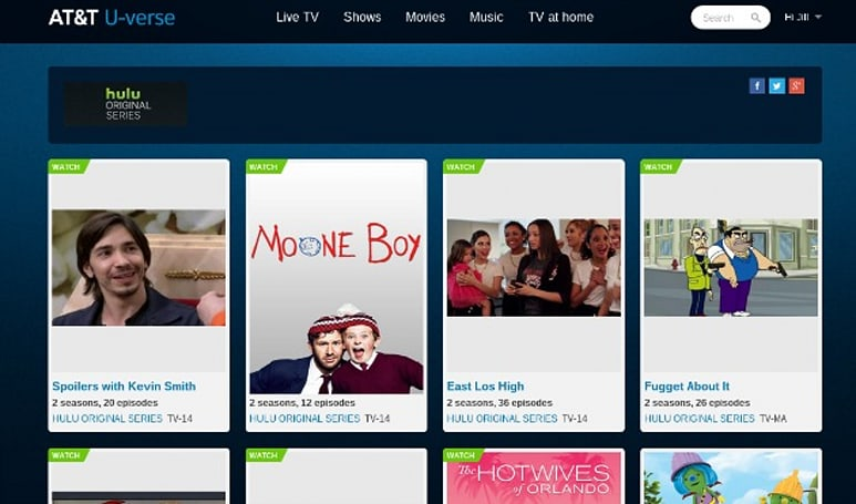 AT&T will sell Hulu subscriptions, but not to watch on your TV