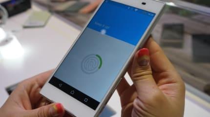 動画:ソニー Xperia Z5 指紋認証を試す。担当者『技術のすべてが詰まっている』