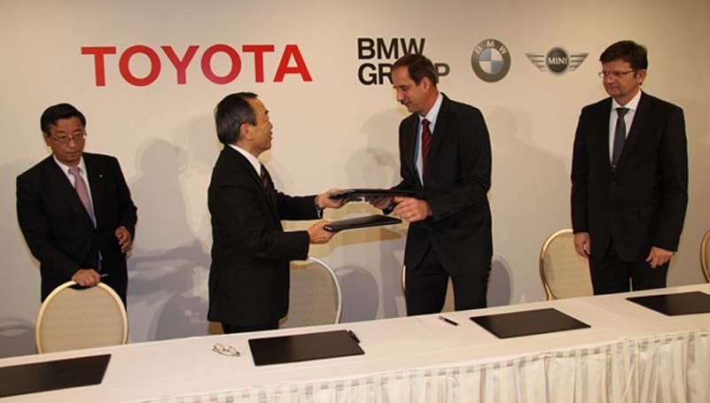 BMW and Toyota come together, right now, over batteries