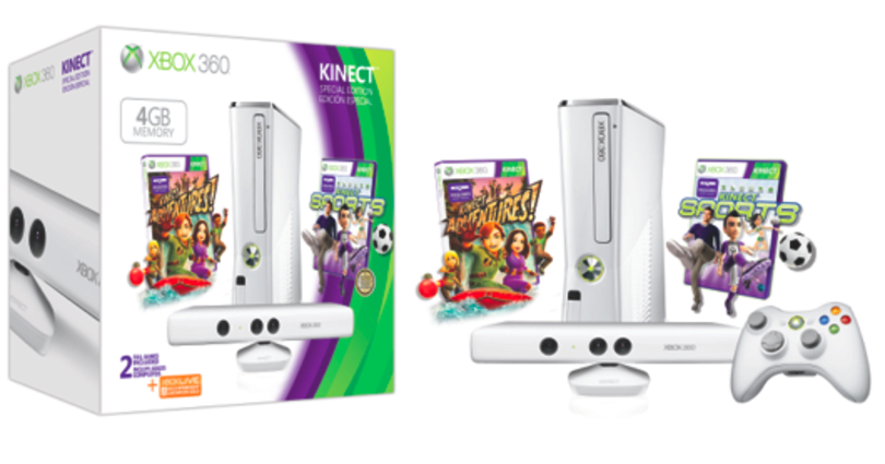 New Xbox bundle packs white Kinect, white controller