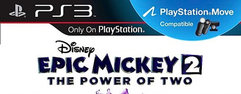 Epic Mickey 2 on PS3 supports Move, but no Kinect on Xbox