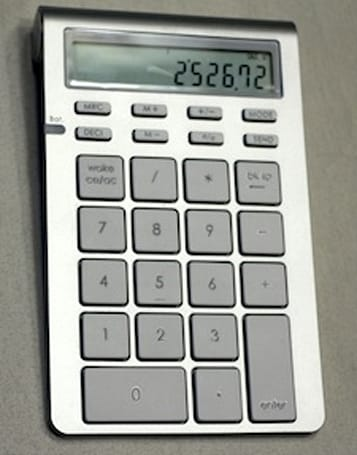 Satechi's Bluetooth Wireless Smart Keypad will excite your accountant