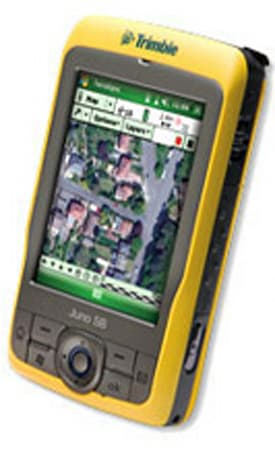 Trimble introduces GPS-equipped Juno SB and Juno SC workforce handsets