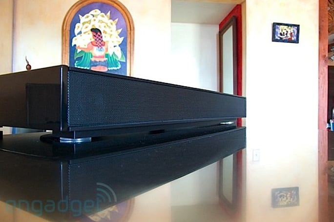 Engadget HD's recession antidote: win a ZVOX Z-Base 550 soundbar