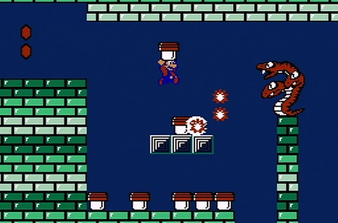 The unsuccessful prototype that became Super Mario Bros. 2